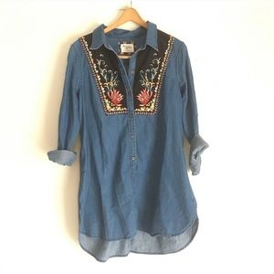 Anthropologie | Holding Horses embroidered tunic